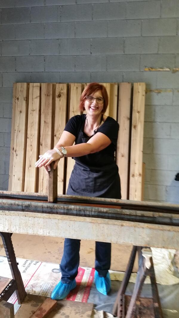 Lori at Building a Bed
