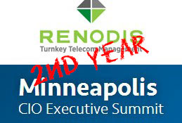 Renodis Invited to Sponsor Minneapolis Mid-Market CIO Executive Summit for the Second Year in a Row