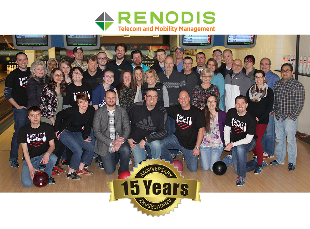 Renodis Milestone: 15 Years of Freeing Clients from Telecom and Mobility Challenges