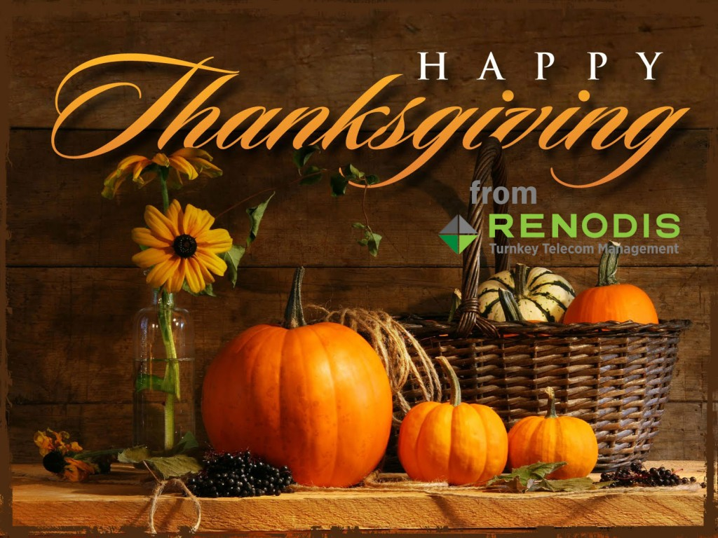 Happy Thanksgiving from Renodis
